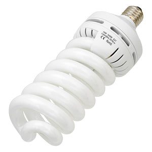 Case of 12x 70 Watt Daylight Compact Fluorescent (CFL) Light Bulbs, Full Spectrum (5400k CRI~90) Daylight White Light High-Wattage Bulbs
