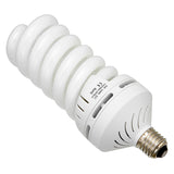 3x 70 Watt Daylight Compact Fluorescent (CFL) Light Bulbs, Set of Three (3) - Full Spectrum (5400k CRI~90) Daylight White Light High-Wattage Bulb, Great for Photo & Video Light Fixtures