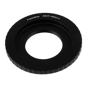 C-Mount Cinema Lens to Nikon 1-Series Mount Camera Bodies