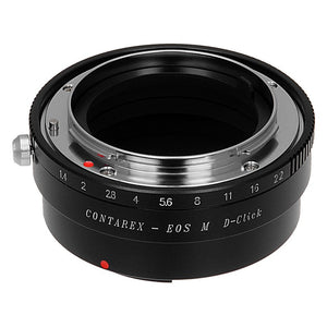 Contarex (CRX-Mount) Lens to Canon EOS M (EF-m Mount) Camera Bodies