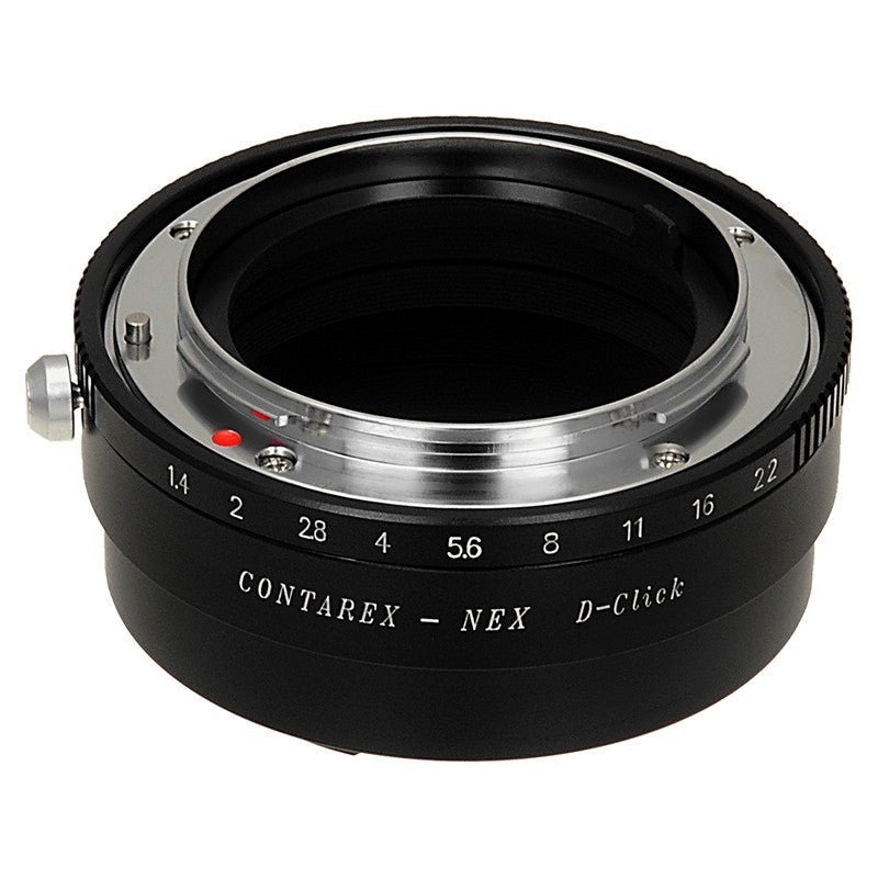 Contarex SLR Lens to Sony Alpha E-Mount Camera Body Adapter