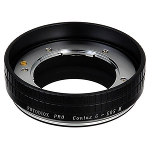 Contax G Lens to Canon EOS M (EF-m Mount) Camera Bodies