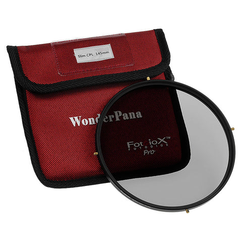 Fotodiox Pro 145mm Slim Circular Polarizer Filter