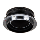 Fotodiox Pro Lens Mount Double Adapter, Contarex (CRX-Mount) SLR and Leica M Rangefinder Lenses to Hasselblad XCD Mount Mirrorless Digital Camera Systems (such as X1D-50c and more)