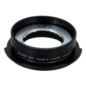 Contax G SLR Lens to Sony CineAlta FZ-Mount Camera Adapter