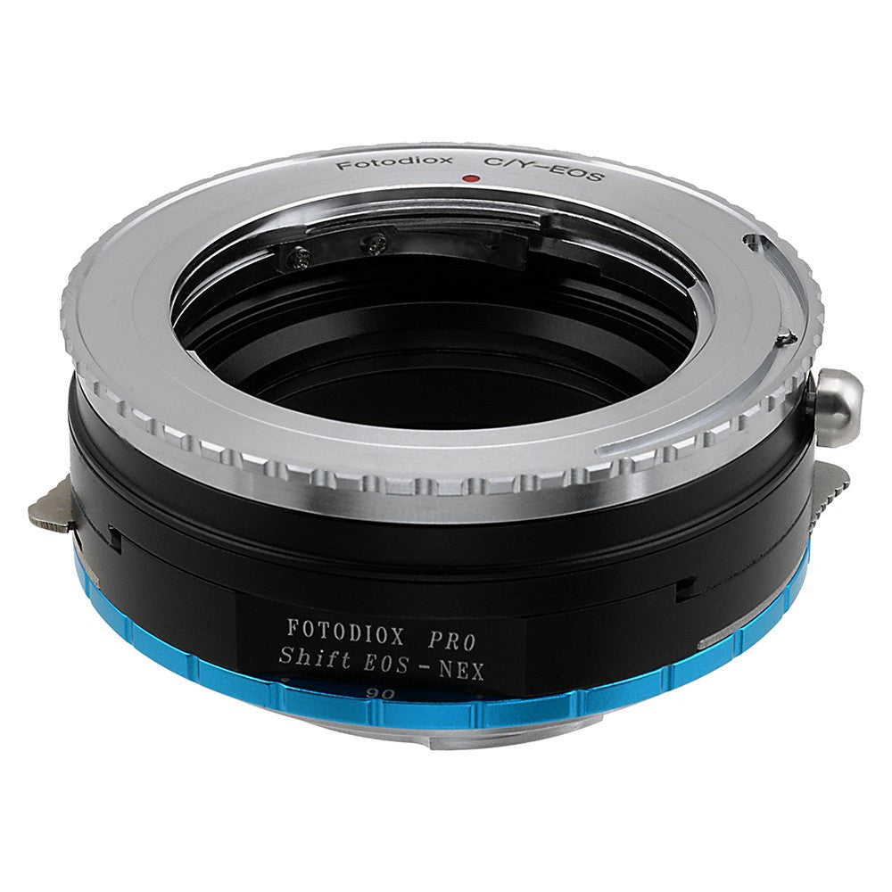 Contax/Yashica (CY) SLR Lens to Sony Alpha E-Mount Camera Body Adapter