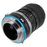 Fotodiox Pro Lens Mount Shift Adapter - Contax/Yashica (CY) SLR Lens to Sony Alpha E-Mount Mirrorless Camera Body