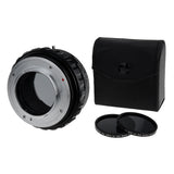Fotodiox DLX Stretch Lens Mount Adapter - Contax/Yashica (CY) SLR Lens to Fujifilm Fuji X-Series Mirrorless Camera Body with Macro Focusing Helicoid and Magnetic Drop-In Filters