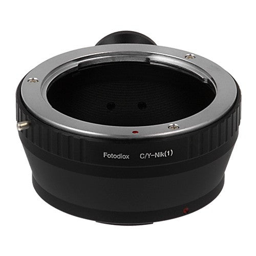 Fotodiox Lens Mount Adapter - Contax/Yashica (CY) SLR Lens to Nikon 1-Series Mirrorless Camera Body