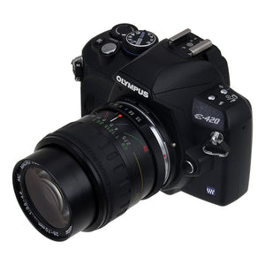 Fotodiox Lens Adapter - Compatible with Contax/Yashica (CY) SLR Lenses to Olympus 4/3 (OM4/3) Mount DSLR Cameras