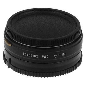 Fotodiox Pro Lens Mount Adapter - Contax/Yashica (CY) SLR Lens to Sony Alpha A-Mount (and Minolta AF) Mount SLR Camera Body