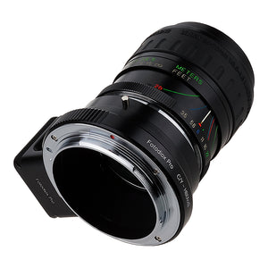 Fotodiox Pro Lens Adapter - Compatible with Contax/Yashica (CY) SLR Lenses to Hasselblad XCD Mount Digital Cameras