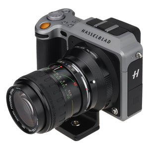 Fotodiox Pro Lens Mount Adapter, Contax/Yashica (CY) SLR Lens to Hasselblad XCD Mount Mirrorless Digital Camera Systems (such as X1D-50c and more)