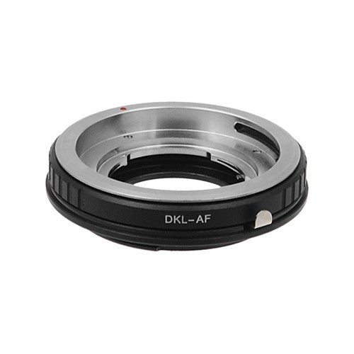 Fotodiox Lens Adapter - Compatible with Deckel-Bayonett (Deckel Bayonet, DKL) Mount SLR Lenses to Sony Alpha A-Mount (and Minolta AF) SLR Cameras