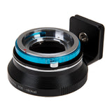 Fotodiox Pro Lens Mount Double Adapter, Deckel-Bayonett (Deckel Bayonet, DKL) Mount SLR and Canon EOS (EF / EF-S) D/SLR Lenses to Hasselblad XCD Mount Mirrorless Digital Camera Systems (such as X1D-50c and more)