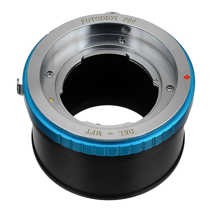 Fotodiox Pro Lens Mount Adapter - Deckel-Bayonett (Deckel Bayonet, DKL) Mount SLR Lens to Micro Four Thirds (MFT, M4/3) Mount Mirrorless Camera Body, with Aperture Control Ring