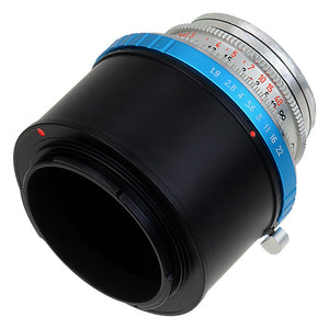 Fotodiox Pro Lens Mount Adapter - Deckel-Bayonett (Deckel Bayonet, DKL) Mount SLR Lens to Sony Alpha E-Mount Mirrorless Camera Body with Selectable Clicked / Declicked Aperture Control