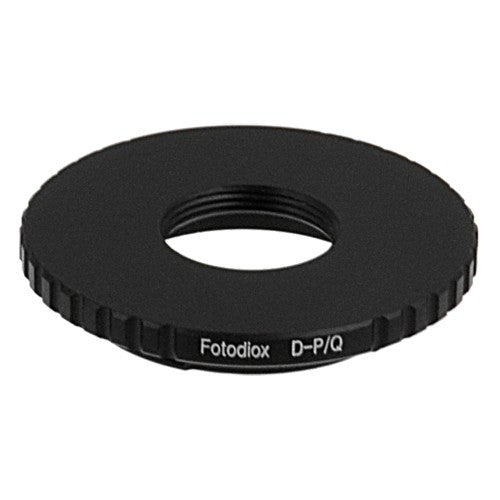 D-Mount CCTV/Cine Lens to Pentax Q (PQ) Mount Camera Bodies