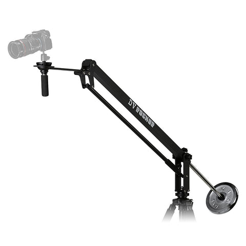 DV Rocker Jib Arm - Camera Crane with Included 5kg Counterweight and Carrying Bag
