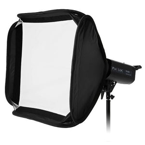Fotodiox Pro Foldable Softbox PLUS Grid (Eggcrate) with Silver Reflective Interior with Double Diffusion Panels