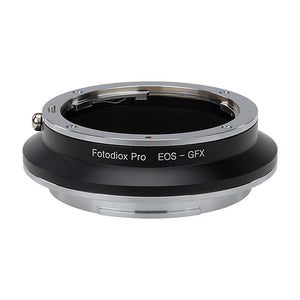Fotodiox Pro Lens Mount Adapter, Canon EOS (EF / EF-S) D/SLR Lens to Fujifilm G-Mount GFX Mirrorless Digital Camera Systems (such as GFX 50S and more)