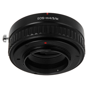 Fotodiox Lens Mount Macro Adapter - Canon EOS (EF / EF-S) D/SLR Lens to Micro Four Thirds (MFT, M4/3) Mount Mirrorless Camera Body for Variable Close Focus