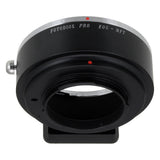 Fotodiox Pro Lens Mount Adapter - Canon EOS (EF / EF-S) D/SLR Lens to Micro Four Thirds (MFT, M4/3) Mount Mirrorless Camera Body
