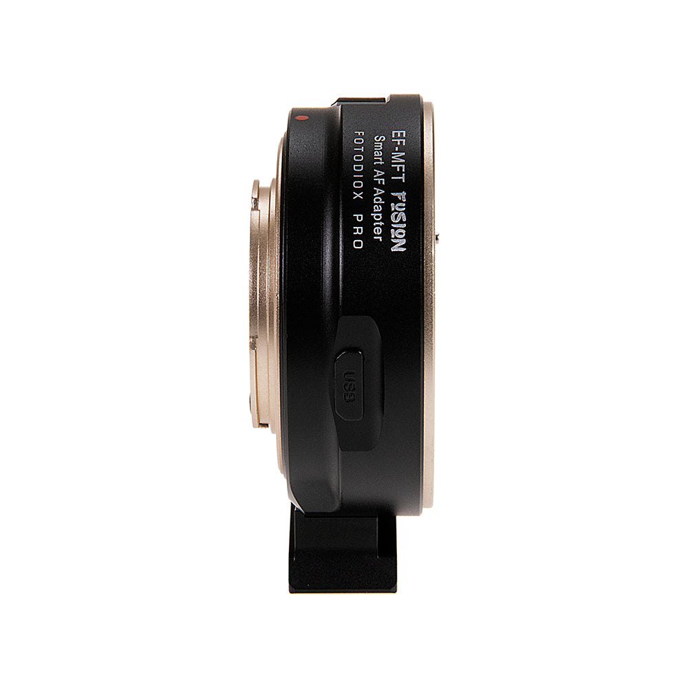Fotodiox Pro Fusion Adapter, Smart AF Adapter - Canon EOS (EF / EF-S) D/SLR  Lens to Micro Four Thirds (MFT, M4/3) Mount Mirrorless Camera Body with