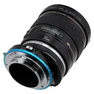 Fotodiox Pro Lens Mount Shift Adapter - Canon EOS (EF / EF-S) D/SLR Lens to Sony Alpha E-Mount Mirrorless Camera Body