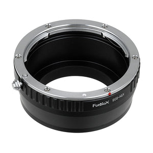 Fotodiox Lens Mount Adapter - Canon EOS (EF / EF-S) D/SLR Lens to Sony Alpha E-Mount Mirrorless Camera Body