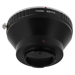 Fotodiox Lens Mount Adapter - Canon EOS (EF / EF-S) Lens to Pentax Q (PQ) Mount Mirrorless Camera Bodies