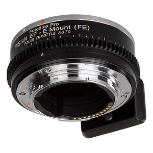 Vizelex Polar Throttle Fusion Smart AF Lens Adapter - Canon EOS EF (NOT EF-S) D/SLR Lens to Sony Alpha E-Mount Mirrorless Camera with Full Automated Functions and Built-In Circular Polarizing Filter