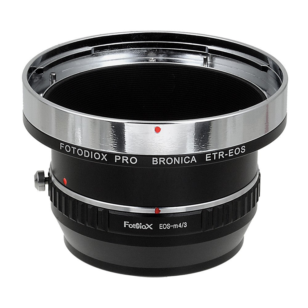 Bronica ETR SLR Lens to Micro Four Thirds (MFT, M4/3) Mount Mirrorless Camera Body Adapter