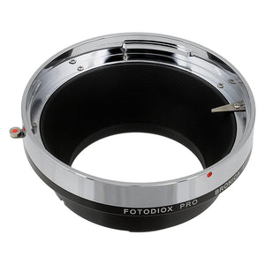 Fotodiox Pro Lens Mount Adapter Compatible with Bronica ETR Mount SLR Lenses to Canon EOS (EF, EF-S) Mount SLR Camera Body - with Generation v10 Focus Confirmation Chip