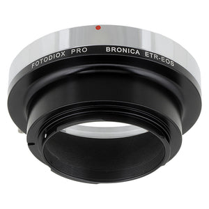 Fotodiox Pro Lens Mount Adapter - Bronica ETR Mount SLR Lenses to Canon EOS (EF, EF-S) Mount SLR Camera Body