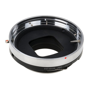 Fotodiox Pro Lens Mount Shift Adapter - Bronica ETR Mount Lens to Nikon F Mount SLR Camera Body