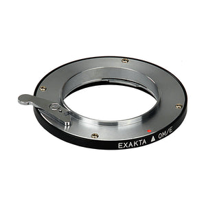 Fotodiox Lens Adapter - Compatible with Exakta, Auto Topcon SLR Lenses to Olympus 4/3 (OM4/3) Mount DSLR Cameras