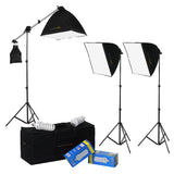 EZ Lite 3-Fixture Lighting Kit - Portable 3 Light Portrait & Small Group Studio Setup