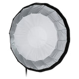 Fotodiox Deep EZ-Pro Parabolic Softbox with Broncolor Speedring for Bronocolor (Pulso, Primo, and Unilite), Flashman, and Compatible - Quick Collapsible Softbox with Silver Reflective Interior with Double Diffusion Panels