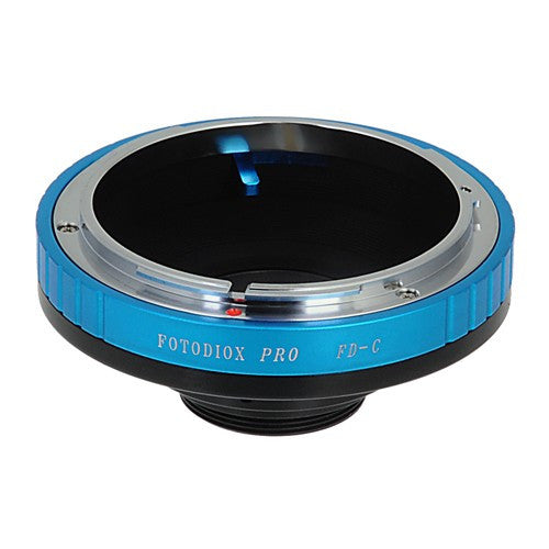 "Fotodiox Pro Lens Adapter - Compatible with Canon FD & FL 35mm SLR Lenses to C-Mount (1"" Screw Mount) Cine & CCTV Cameras"
