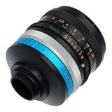 "Fotodiox Pro Lens Adapter Canon FD & FL 35mm SLR lens to C-Mount (1"" Screw Mount) Cine & CCTV Camera Body"