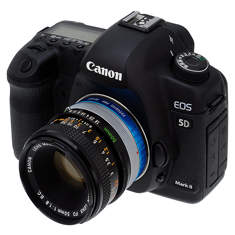 Urth x Gobe Lens Mount Adapter Compatible with Canon FD Lens to ...