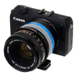 Fotodiox Pro Lens Mount Adapter - Canon FD & FL 35mm SLR lens to Canon EOS M (EF-M Mount) Mirrorless Camera Body