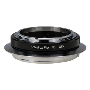 Fotodiox Pro Lens Mount Adapter, Canon FD & FL 35mm SLR lens to Fujifilm G-Mount GFX Mirrorless Digital Camera Systems (such as GFX 50S and more)