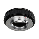 Fotodiox DLX Stretch Lens Mount Adapter - Canon FD & FL 35mm SLR lens to Micro Four Thirds (MFT, M4/3) Mount Mirrorless Camera Body with Macro Focusing Helicoid and Magnetic Drop-In Filters