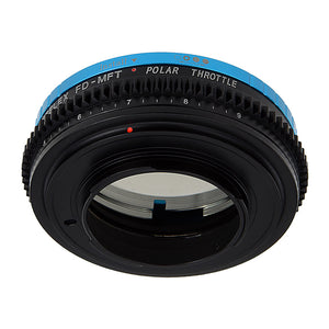 Vizelex Polar Throttle Lens Adapter Compatible with Canon FD and FL Lenses to Sony E-Mount Cameras - By Fotodiox Pro