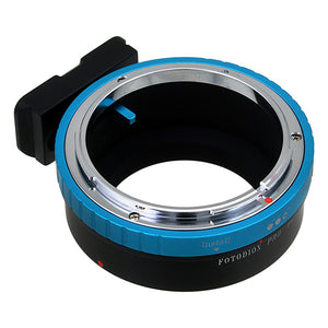 Fotodiox Pro Lens Mount Adapter - Canon FD & FL 35mm SLR lens to Sony Alpha E-Mount Mirrorless Camera Body with Built-In Aperture Control Dial