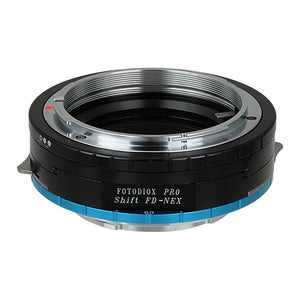 Canon FD and FL SLR Lens to Sony Alpha E-Mount Camera Body Adapter