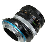 Fotodiox Shift Lens Mount Adapter - Canon FD & FL 35mm SLR lens to Sony Alpha E-Mount Mirrorless Camera Body