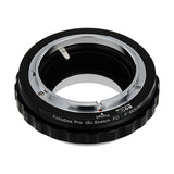 Fotodiox DLX Stretch Lens Mount Adapter - Canon FD & FL 35mm SLR lens to Sony Alpha E-Mount Mirrorless Camera Body with Macro Focusing Helicoid and Magnetic Drop-In Filters